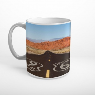 Route 66 Highway USA Tasse T1908