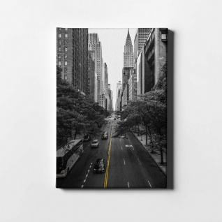 New York City Straße Leinwand L0392