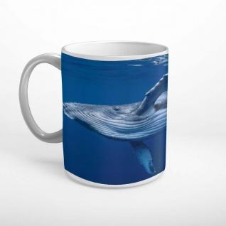 Buckelwal Wal Meer Tier Wasser Tasse T2100