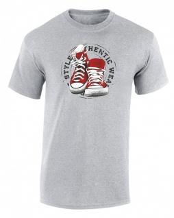 Sneaker Schuhe Herren T-Shirt T0091