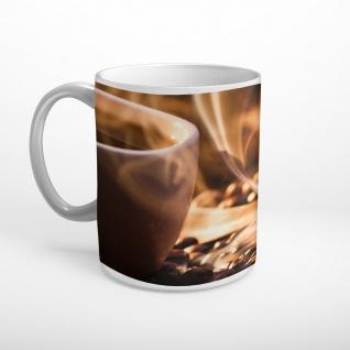 Kaffee Bohnen Rösterei Tasse T1113