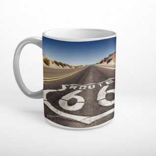 Route 66 Highway USA Tasse T1909