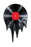 Vinyl Schallplatte Musik Illustration Kunstdruck Poster P0504 - Vorschau 4