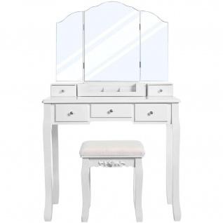Nancy West Adams Luxus Kommode mit Spiegel - Make-up Tabelle für Frauen - Dressing