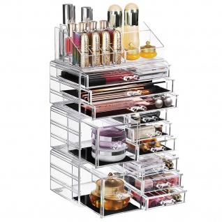 Nancy Make-up Veranstalter - Kosmetik Veranstalter - Storage Box - vier separate Teile