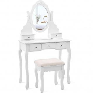 Nancy New York Kommode mit Spiegel - Make-up Tabelle für Frauen - Dressing