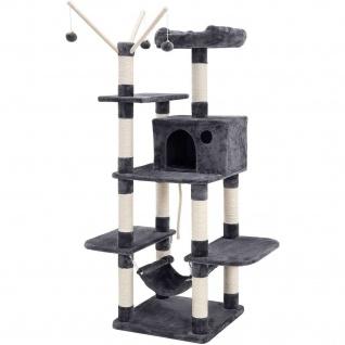Nancys Kratz für Katzen - Katzen-Baum Gray - einschließlich Hammock - 154cm hoch