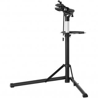 Nancys Pro Fahrrad Montage Standard - Montageständer mit magnetischem Kit Tool - 360 ° drehbar - Schwarz