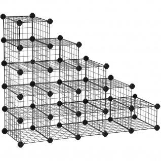 Nancy Schuh - Storage Cube - Kabinett für 16 Paare Schuhe - Schuhe Schrank