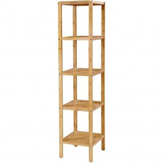 Nancys Bamboo Badezimmer-Rack - Storage Rack mit 5 Ebenen - Badezimmer Regal