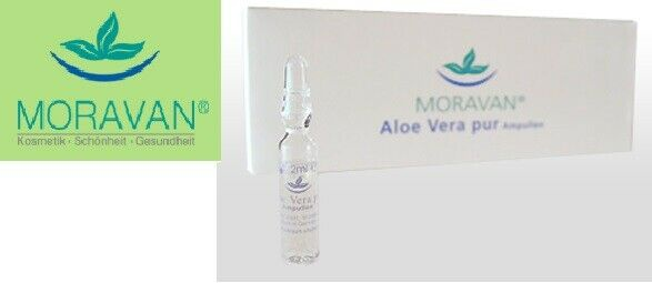Moravan - Aloe Vera pur Ampullen 10 Stück à 20 ml (Glas)