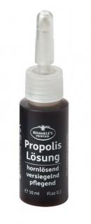 REMMELE'S PROPOLIS Lösung - 10 ml - Hühneraugen, Schrunden, Narben