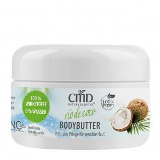 Cmd Naturkosmetik - Rio De Coco Bodybutter - 100ml 100 % Wirkstoffe, 0 % Wasser - Vorschau