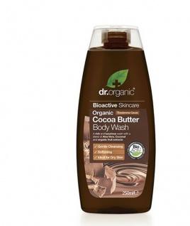 Dr Organic - Cocoa Butter- Creamy Body Wash - Dusch- und Badegel 250ml