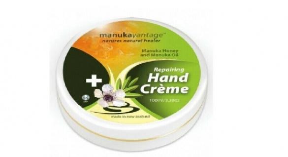 manukavantage - Manuka Handcreme - Manukahonig und Manukaöl 100 ml Ausverkauf