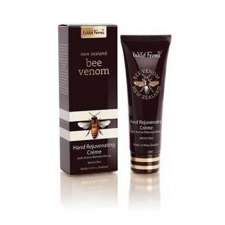 Wild Ferns - Bienengift + Manukahonig - Bee Venom Manuka Rejuvenating Handccreme