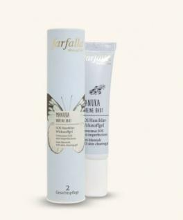 farfalla - Manuka Unreine Haut, SOS Hautklar-Wirkstoffgel - 15 ml