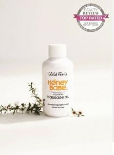 Wild Ferns - Hone Babe - Manuka Beruhigendes Massageöl reinem Manukahonig