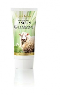 Wild Ferns - Lanolin (Wollwachs) Hand and Nail Creme Hagebuttenöl und Keratin