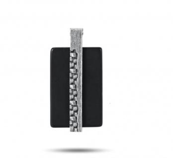 """"""" WOVEN"""" Achat Anhänger, 925 Sterling Silber im verwobenen Rattan Design"""