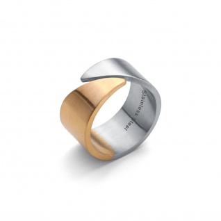 """"""" Classic Line"""" Bi Color Ring"""
