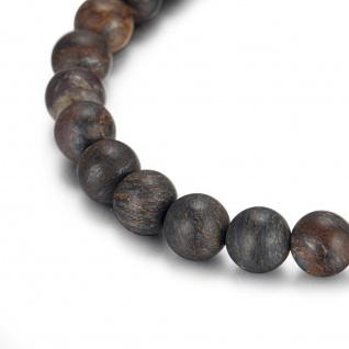 ",, Urban Rocks"" Buddha-Bead-Armband mit echten Steinkugeln"