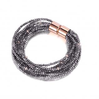 "Multistring Glamour Stone Armband "" KOURI"""