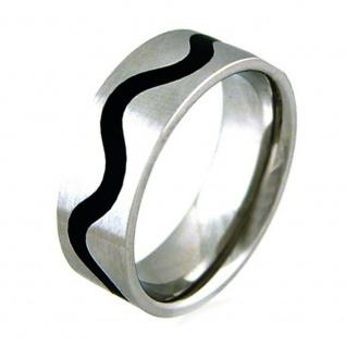 """"""" WAVE"""" Titan Ring im Wellen Design"""