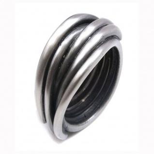 """"""" Urban Rocks"""" Edelstahl Ring"""
