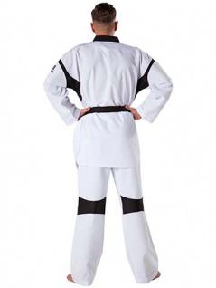 Taekwondo Anzug Revolution Black Mesh WT anerkannt - Größe 160 cm - Vorschau 2