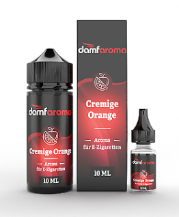 Damfaroma Aroma - Cremige Orange 10ml