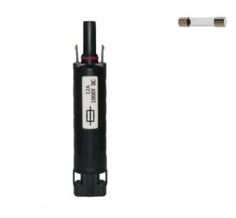 Sicherungsstecker SC4 kompatibel 12A H4 Solarstecker Connector UV beständig