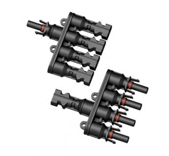 SC4 Stecker 4-1 mit Adaptoren für Verlängerung 40cm Stecker Connector Solar - Vorschau 4