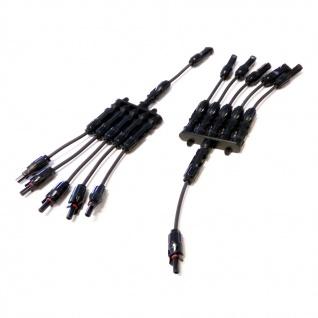 SC4 Stecker 5-1 mit Adaptoren für Verlängerung 214cm Stecker Connector Solar