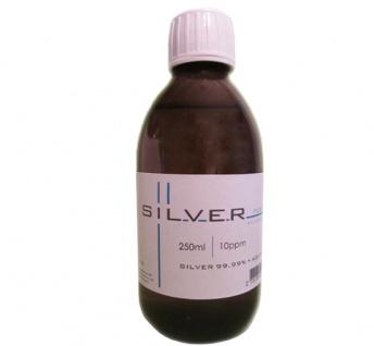 Kolloidales Silber 250ml | 10ppm Flasche Braunglas Originalitätsverschluss pure