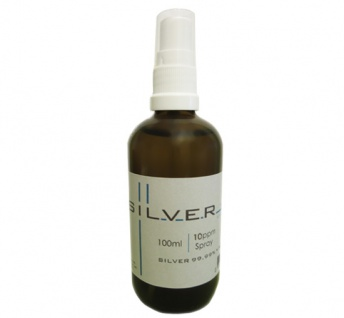 Kolloidales Silber 100ml | 10ppm als Spray Sprühflasche Braunglas SILVERpurity