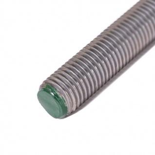 Gewindestange M10 DIN 976-1 A2 V2A 1m Edelstahl rostfrei Bolzenstan. Gewindestab