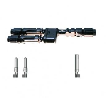 SC4 Verteilerset MM/F Y Stecker SC4 Stecker Solar Connector 4mm² UV beständig
