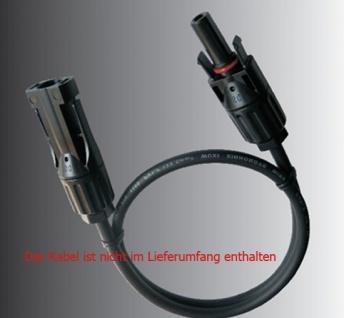 SC4 Stecker Paar 1-1 Solarstecker Buchse Connector UV beständig H4 Amphenol - Vorschau 4