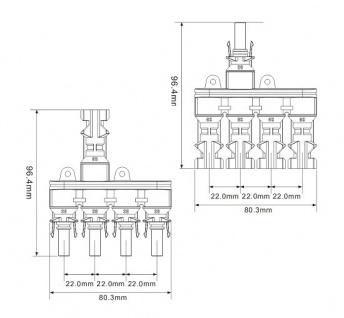 SC4 Stecker 4-1 mit Adaptoren für Verlängerung 40cm Stecker Connector Solar - Vorschau 5