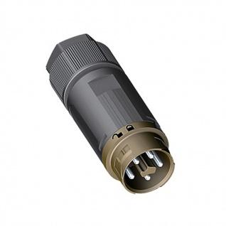 Wieland Stecker 5 polig Male RST mini RST16I5 Verschaltung IP69 7, 1-13mm signalbraun