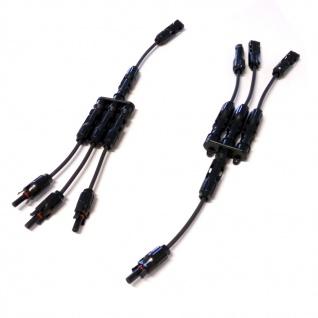 SC4 Stecker 3-1 mit Adaptoren für Verlängerung 1014cm Stecker Connector Solar