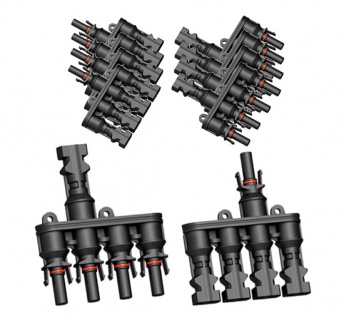 5x Paar SC4 Verzweigungsstecker 4-1 T Solarstecker Buchse Connector UV best. H4