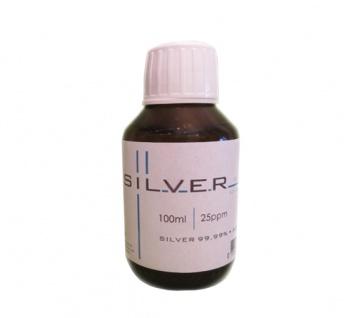 Kolloidales Silber 100ml | 25ppm Flasche Braunglas Originalitätsverschluss pure