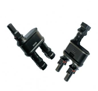 SC4 Stecker 2-1 mit Adaptoren für Verlängerung 113cm Stecker Connector Solar - Vorschau 4