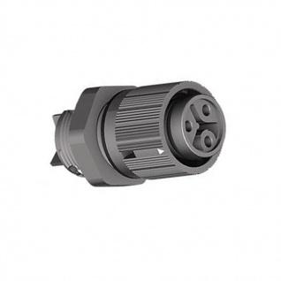 1x Wieland Buchse Geräteanschluss RST16I3 S B1 M02 SW 3-polig, Anwendung 250V