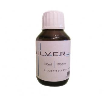 Kolloidales Silber 100ml | 10ppm Flasche Braunglas Originalitätsverschluss pure
