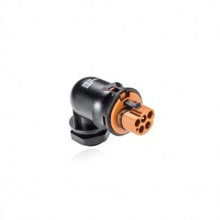 Stecker Male fünfpolig gewinkelt Geräteanschluss Wieland   signalbraun RST20i5