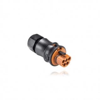 Stecker Male fünfpolig Wieland RST 20i5 signalbraun Steckverbindung -40 ~+100°C