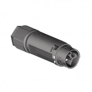 Wieland Stecker 3 polig Male RST mini RST16I3 Verschaltung IP69 5-9, 5mm schwarz